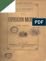 Valparaíso en la esposición nacional de 1884