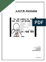 SFM Formulae Booklet
