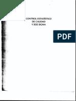 APUNTES DE CONTROL ESTADÍSTICO DE CALIDAD