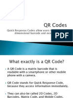 qr codes presentation
