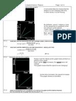 4437 Revision Summary IGCSE Physics