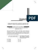 Aptitud Numerica Concurso Docentes 2005