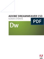 dreamweaver cs3 manuale