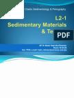 Sedimentary Materials