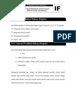 Aturan Produksi FSA