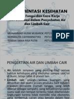 Instrumen PENYEHATAN AIR & LIMBAH CAIR