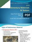 Sedimentary Materials & Texture