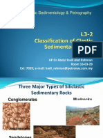 Clastic Rocks Classification