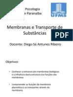 Aula Membranas e Transporte