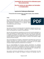 Ordenanza Bioc Bahia Blanca