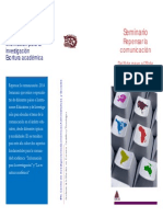 Seminario Repensar la Comunicación 2014 Actualización