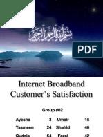 50136359 Broadband Customerr Ssatisfaction BRM