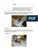 Proyecto 1 - Motor Electrico