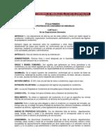 Ley en Propiedad en Condominio de Inmuebles Del Estado de Quintana Roo