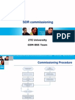SDR Commissioning zte