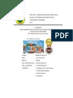 PENERAPAN HACCP PADA PERUSAHAAN SUSU INDOLAKTO