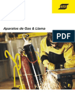 11- Catalogo ESAB-Condor (Gases y Aparatos)