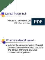 Dental Personnel
