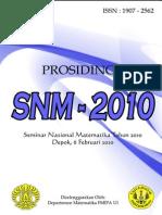 Prosiding SNM 2010_Matematika UI