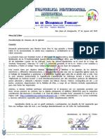 CARTA a LIDERES JUVENILES Confraternidad Juvenil Interdenominacional 2011