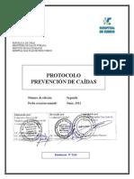 Protocolo Prevención de Caidas 2ºda edición