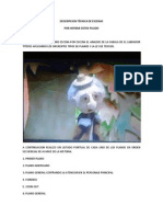 DOCUMENTO DESCRIPCION TÉCNICA DE ESCENAS
