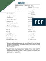 EXERCÍCIOS (Separação de Variáveis + Problemas) (1)