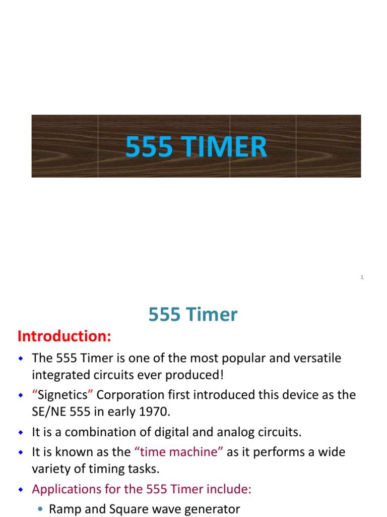 555 Timer Pdf Detector Radio Electronic Circuits Oscillator 50 Duty Cycle Circuit Schematic Diagram