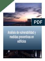 Analisis de Vulnerabilidad y Medidas Preventivas en Edificios