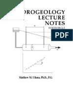 HydrogeologyLectureNotes v2.3 LR