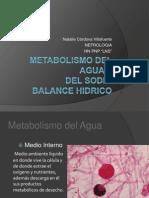 Fisiologia Del Agua y Sodio