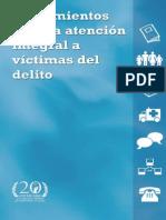 Lineamientos Para La Atencion a Victimas de Delito