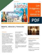 Tema Imagenes y La Idolatria Libro