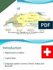 Switzerland culture and business etiqutes