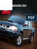Nissan D22 Navara Brochure