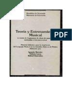 Teoria y Entrenamiento Musical