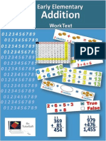 Early Elementary - Addition WorkText