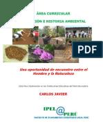 ÁREA CURRICULAR DE EDUCACIÓN E HISTORIA AMBIENTAL