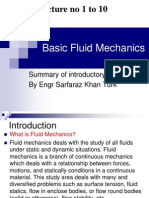 lecture 1 to 10 basic fluidmechanics