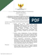 Permen Nomor 20 Tahun 2012 Petunjuk Teknis Jamsostek