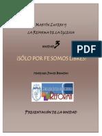 Lutero y La Reforma Presentacion Unidad 3