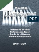 Yamaha Cvp 201