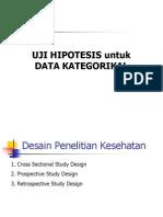 Materi 12 Uji Hipotesis Data Kategorik (Zulaela)