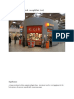 Emerging Trads of Kiosk Concept (Fast Food )