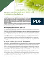 Axxonsoft Case Study Raiffeisen Bank Aval