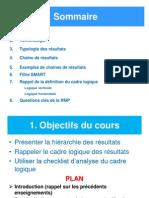 Cours Planification Basée sur les résultats L3