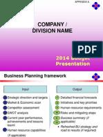 Ser2014 Budget Presentation Template