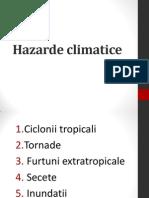 Hazarde climatice