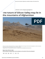 The Future of Silicon Valley May Lie in the Mountains of Afghanistan _ VentureBeat _ Gadgets _ by Richard Byrne Reilly