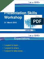 Presentation Skills Workshop